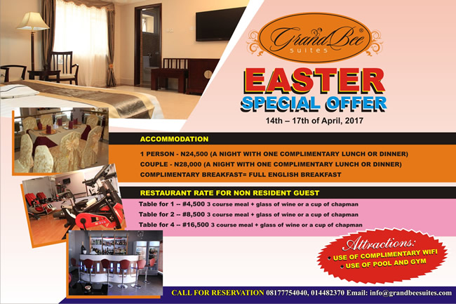 standard rooms special promo